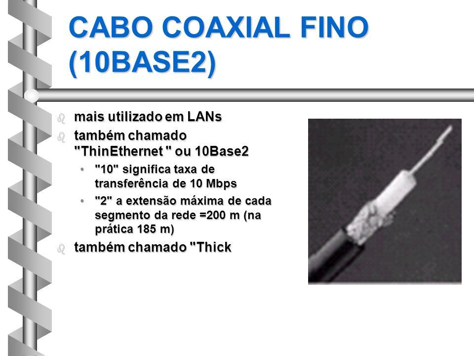 CABO COAXIAL FINO (10BASE2)