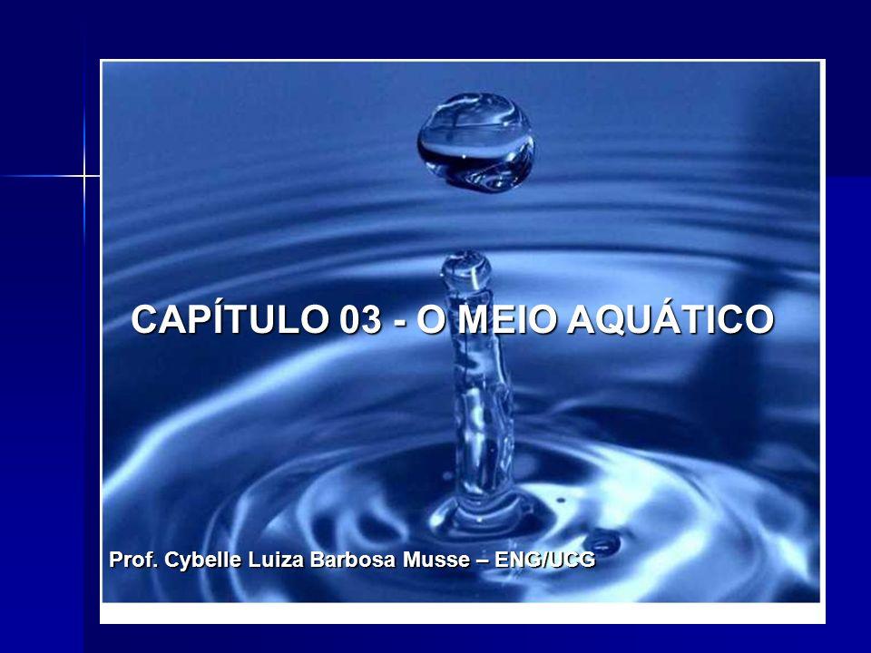 CAPÍTULO 03 - O MEIO AQUÁTICO