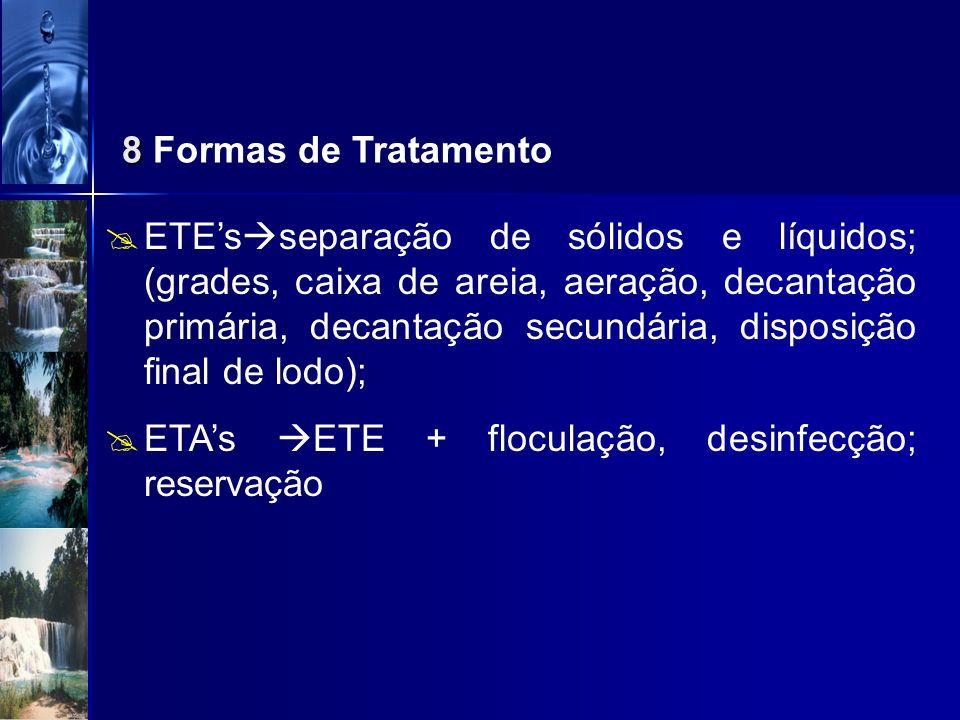 8 Formas de Tratamento