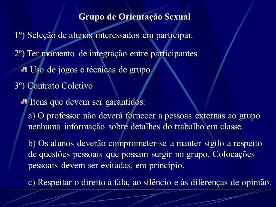 Grupo de Orientação Sexual