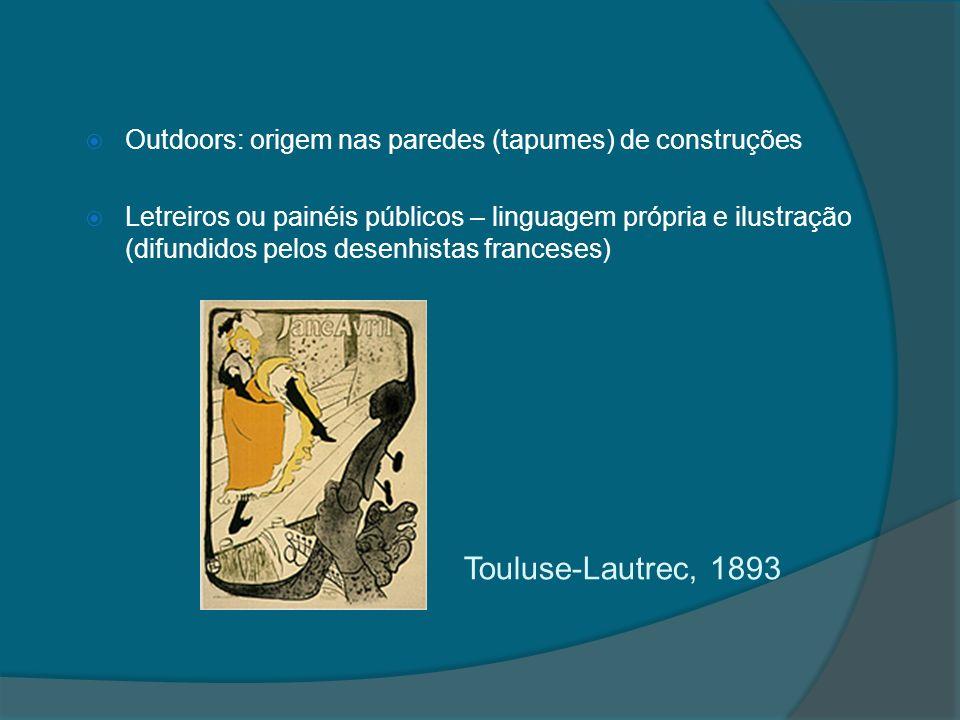 Outdoors: origem nas paredes (tapumes) de construções