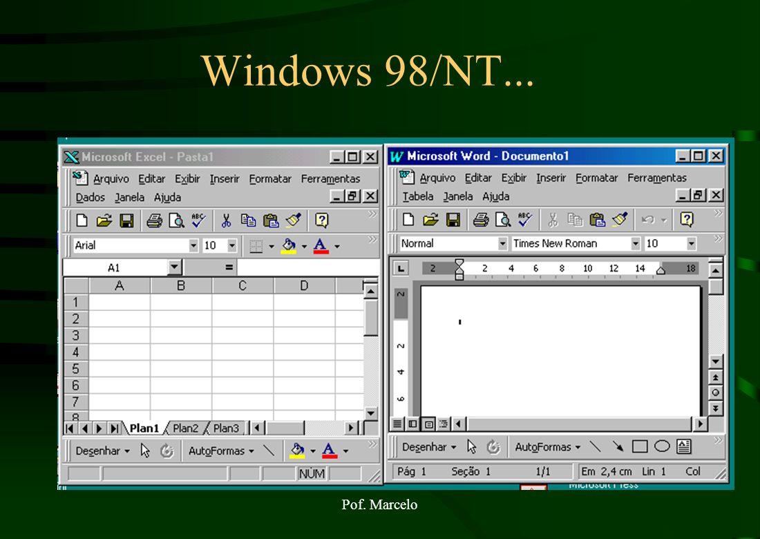 Windows 98/NT... Pof. Marcelo