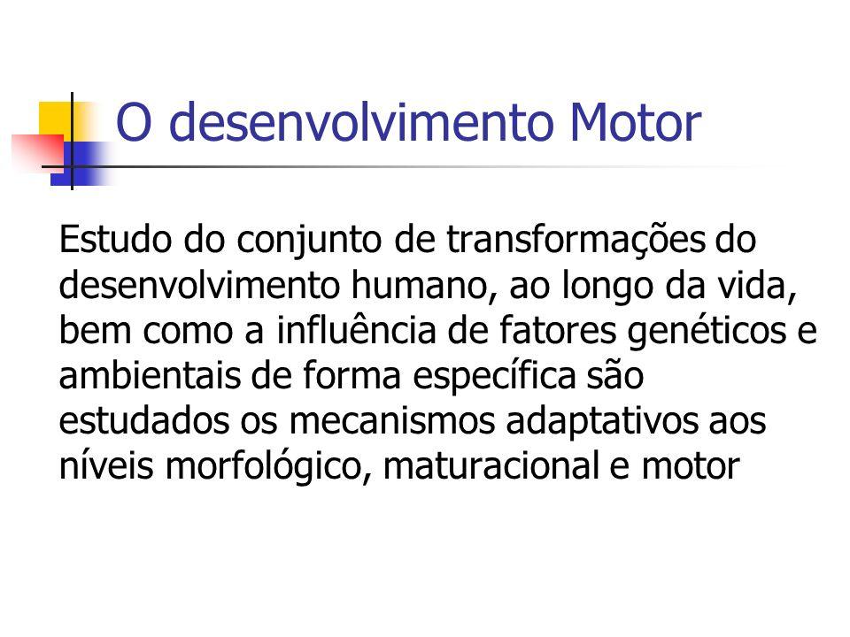 O desenvolvimento Motor