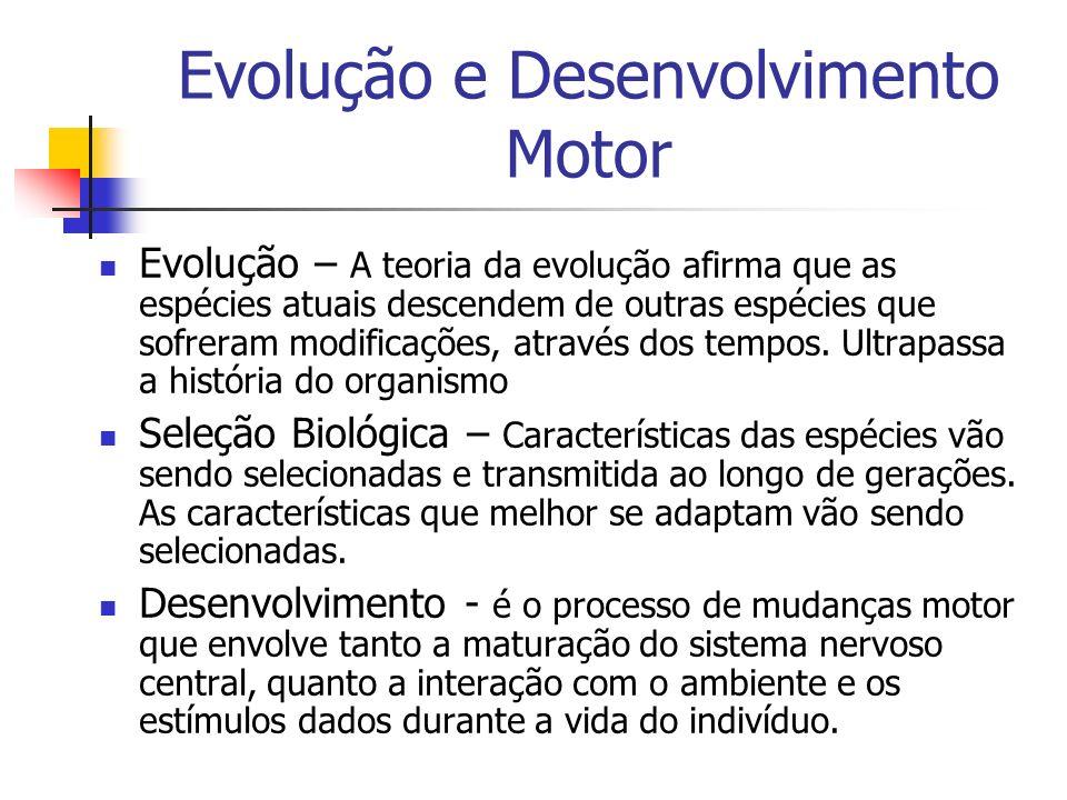 Evolução e Desenvolvimento Motor