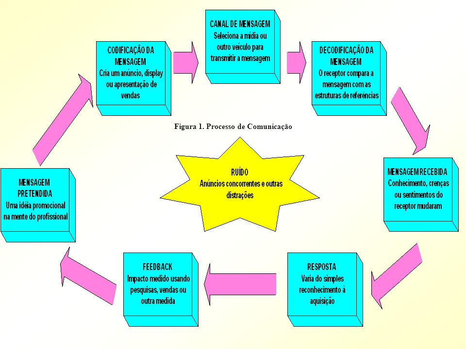 Figura 1. Processo de Comunicação