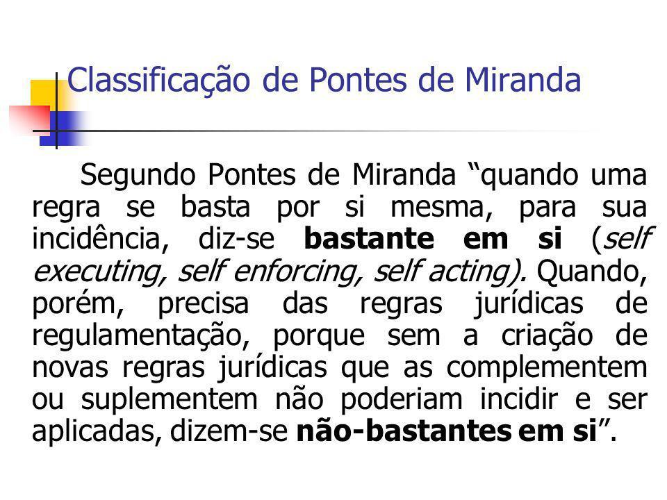 Classificação de Pontes de Miranda