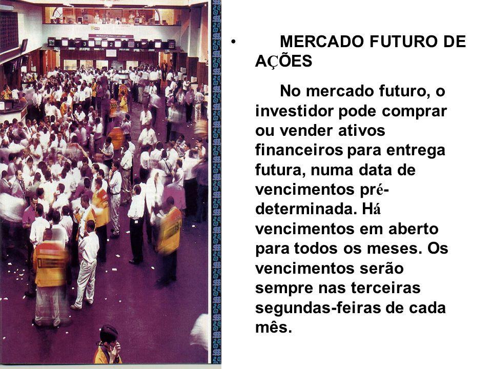 MERCADO FUTURO DE AÇÕES