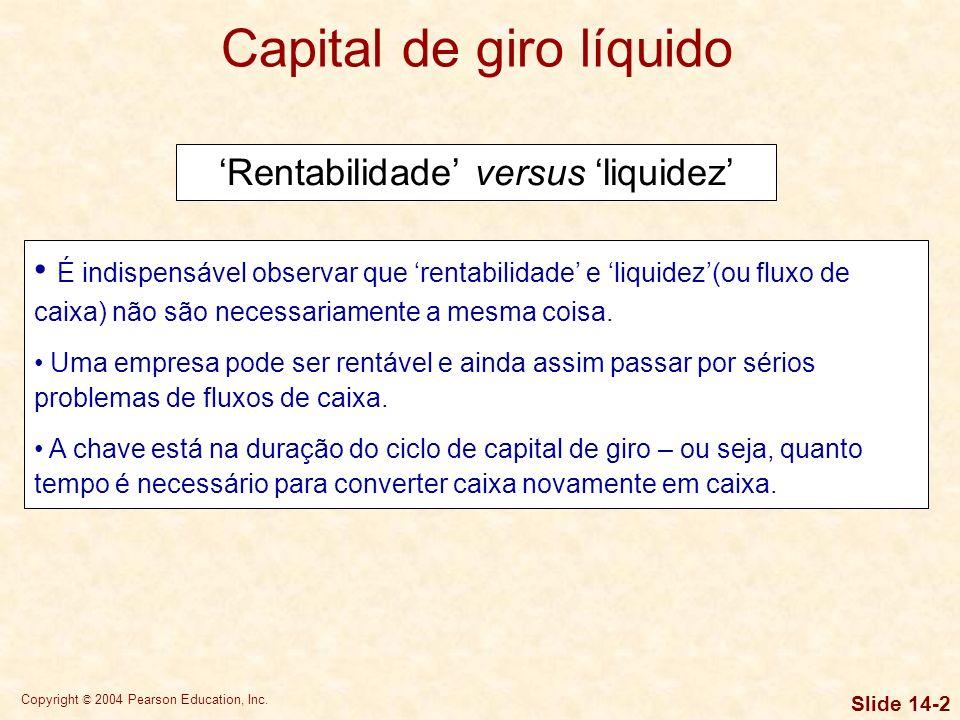 Capital de giro líquido