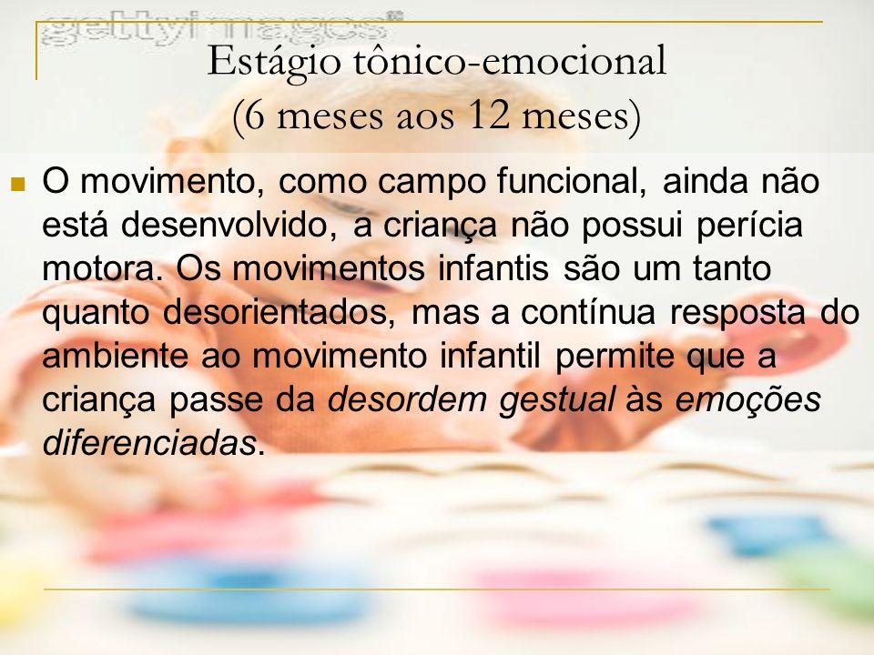 Estágio tônico-emocional (6 meses aos 12 meses)