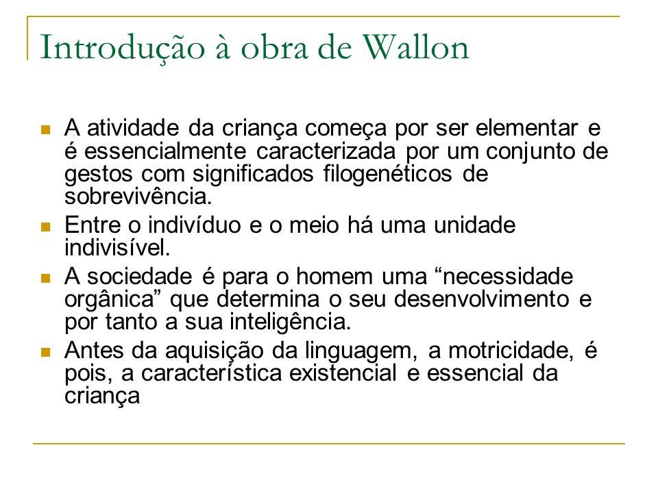 Introdução à obra de Wallon
