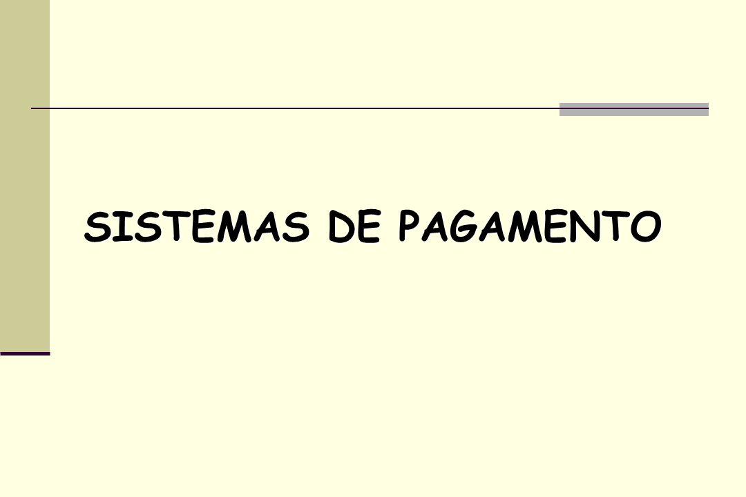 SISTEMAS DE PAGAMENTO