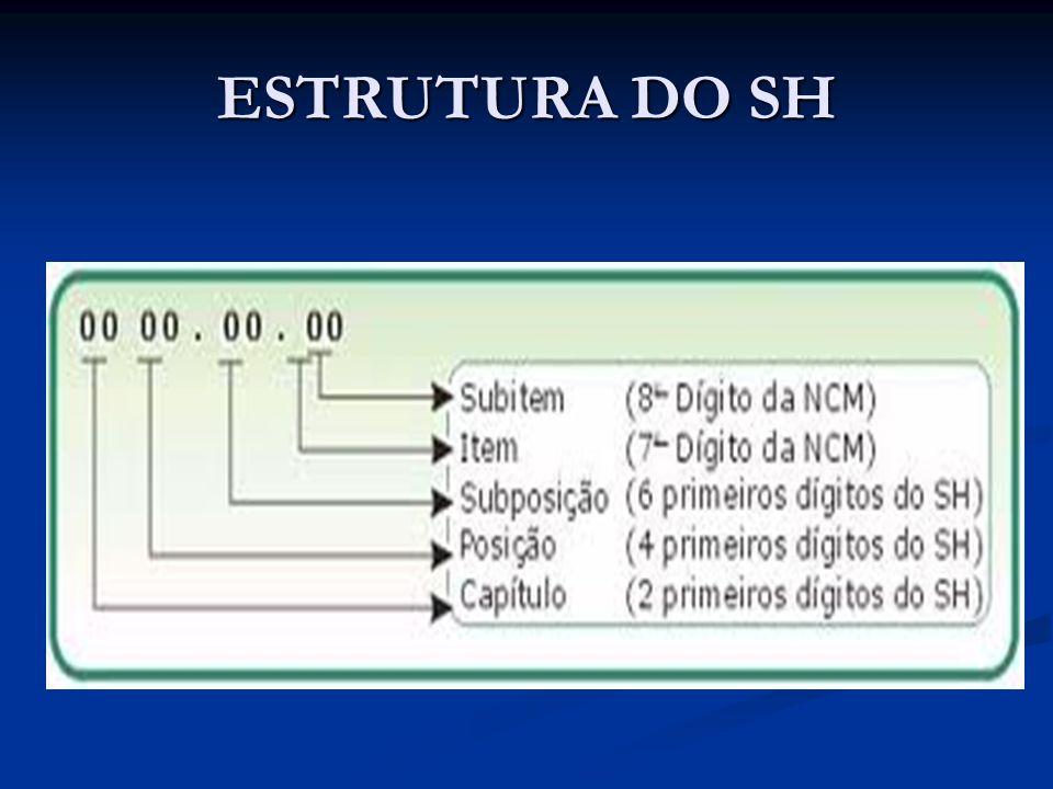 ESTRUTURA DO SH