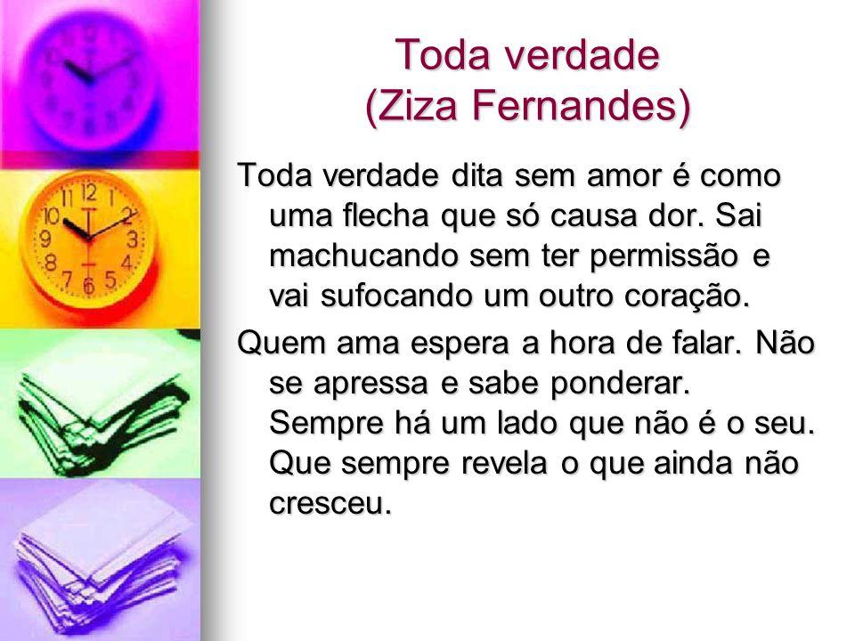 Toda verdade (Ziza Fernandes)