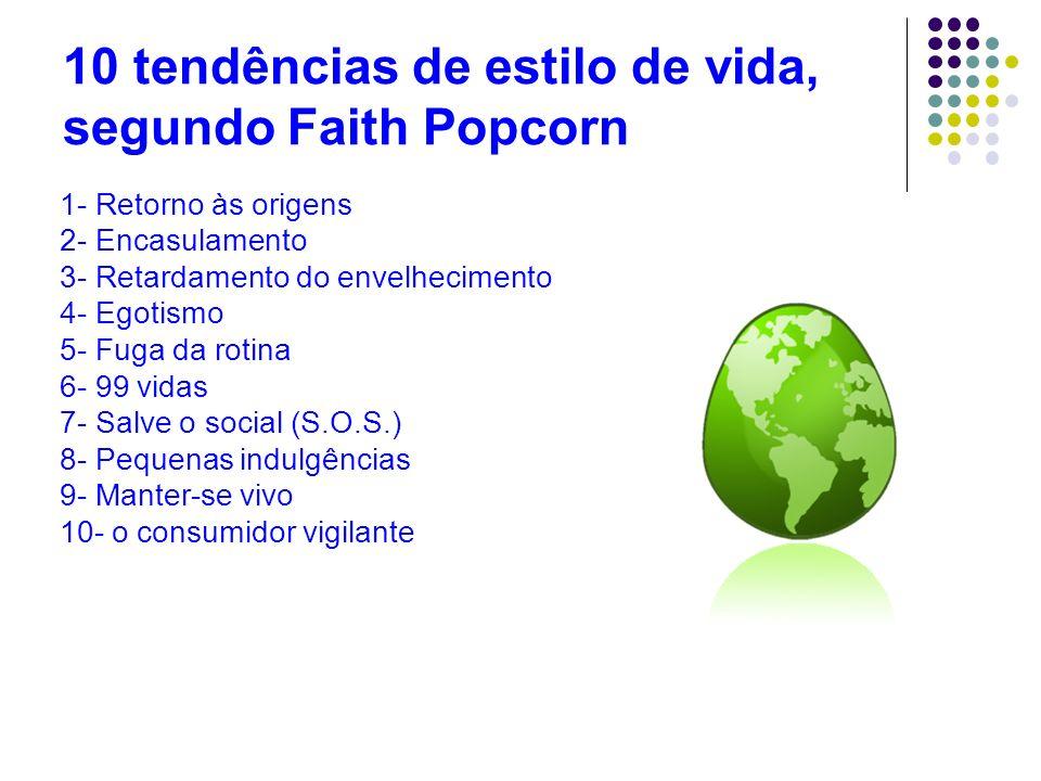 10 tendências de estilo de vida, segundo Faith Popcorn