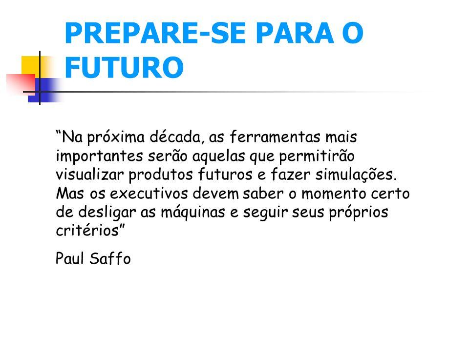 PREPARE-SE PARA O FUTURO