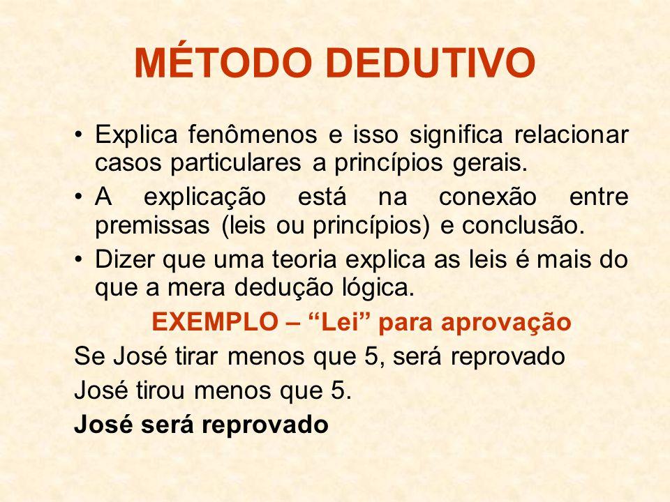 EXEMPLO – Lei para aprovação