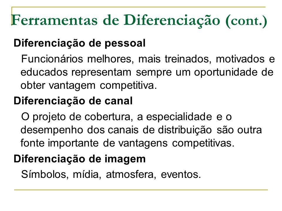 Ferramentas de Diferenciação (cont.)