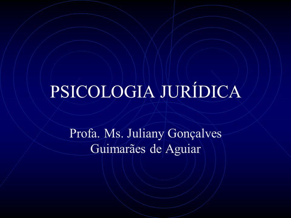 Profa. Ms. Juliany Gonçalves Guimarães de Aguiar