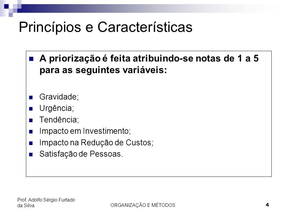 Princípios e Características