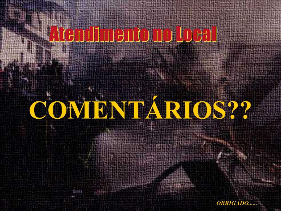 COMENTÁRIOS OBRIGADO......