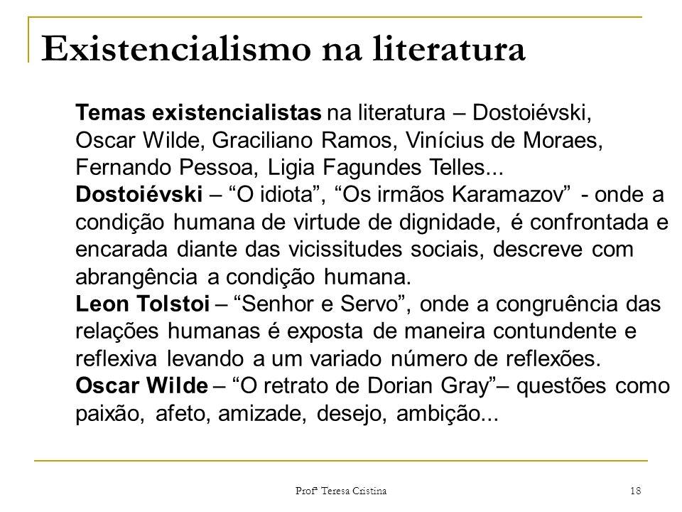 Existencialismo na literatura