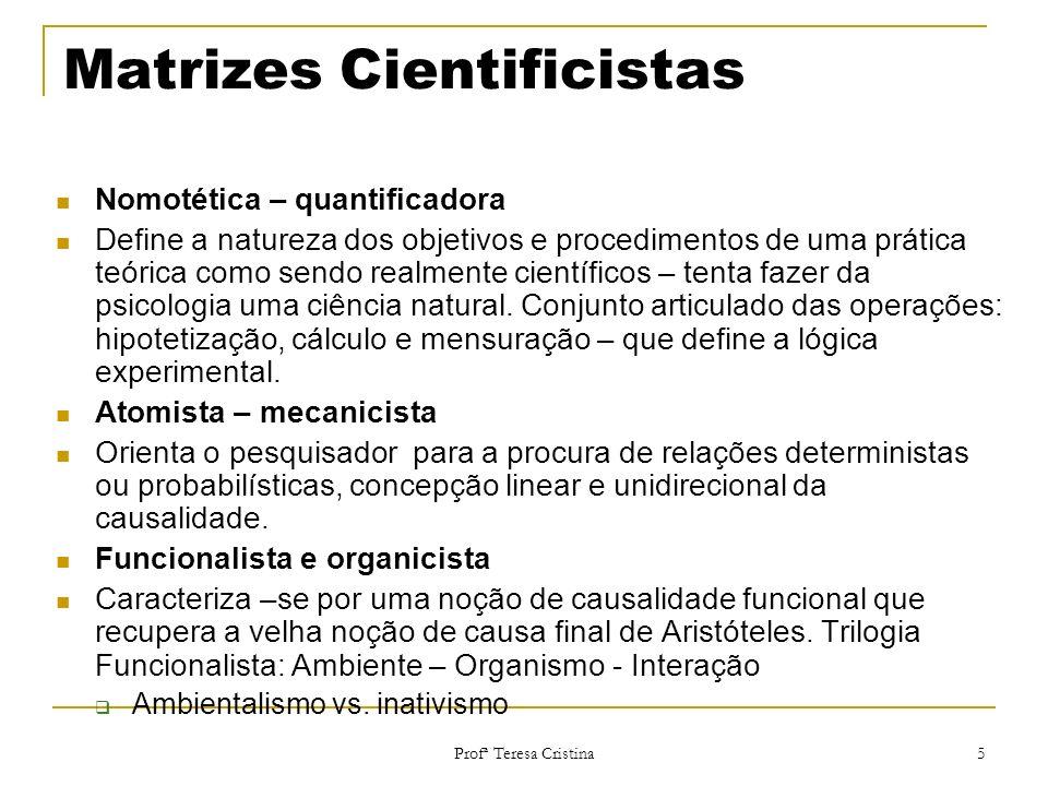 Matrizes Cientificistas