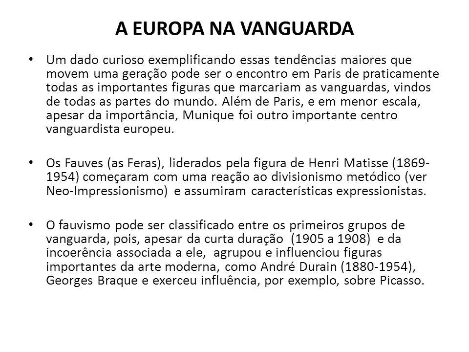 A EUROPA NA VANGUARDA