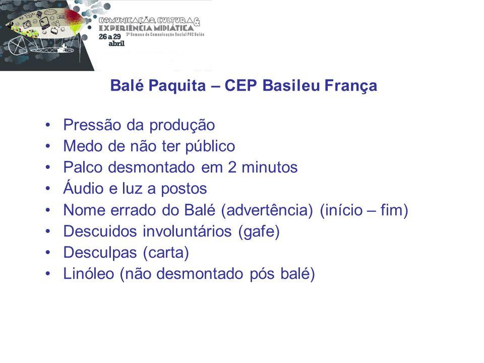 Balé Paquita – CEP Basileu França