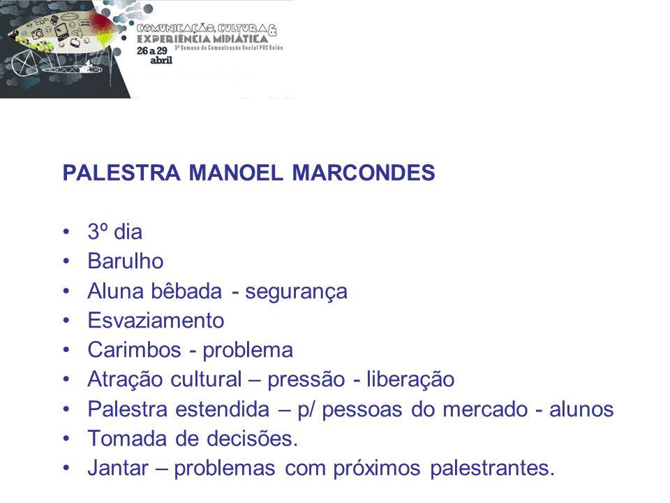 PALESTRA MANOEL MARCONDES