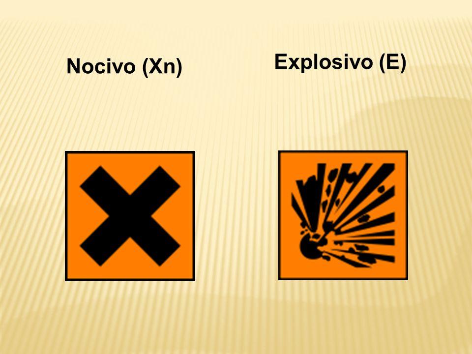 Explosivo (E) Nocivo (Xn)