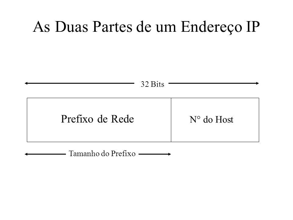 As Duas Partes de um Endereço IP
