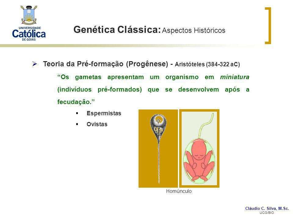 Genética Clássica: Aspectos Históricos