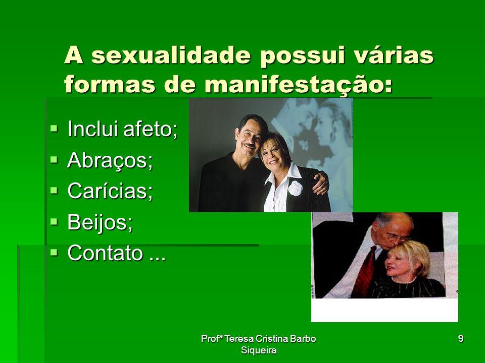A sexualidade possui várias formas de manifestação: