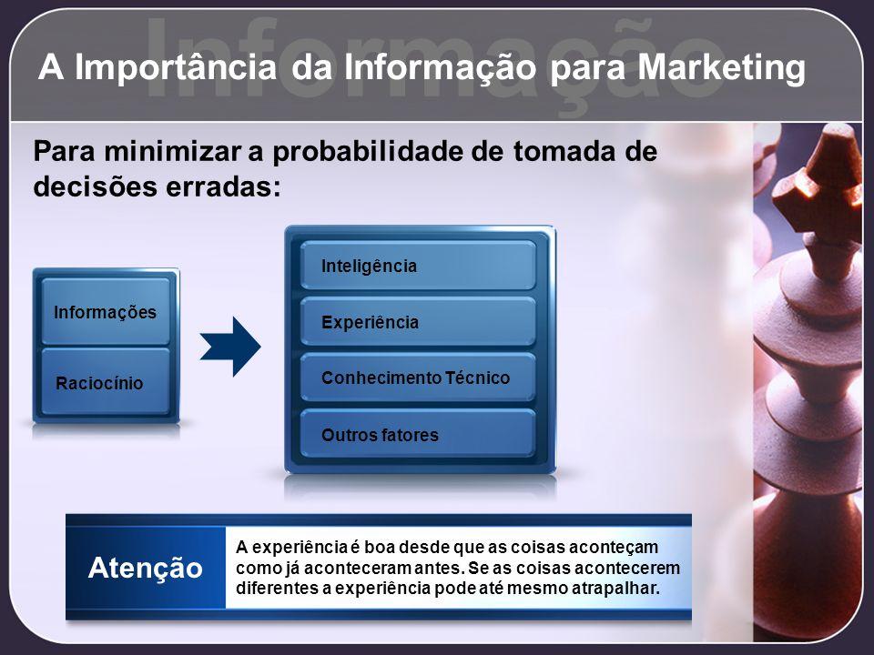 A Importância da Informação para Marketing