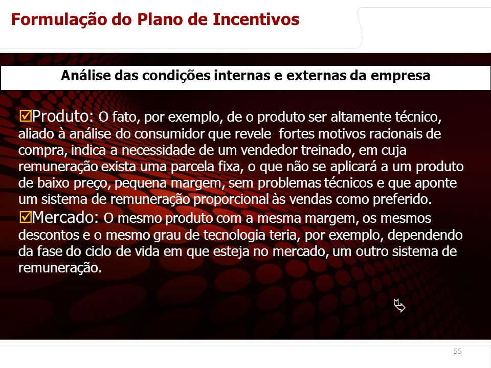 Análise das condições internas e externas da empresa