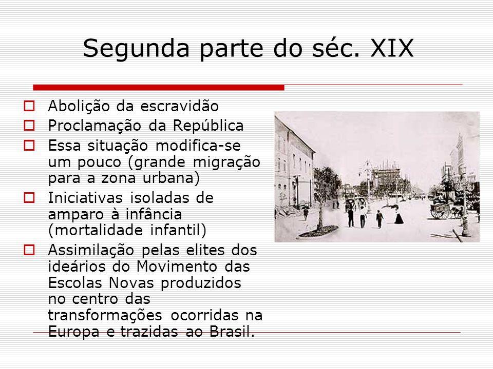 Segunda parte do séc. XIX