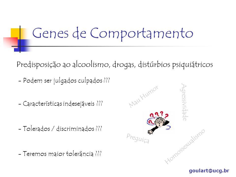 Genes de Comportamento