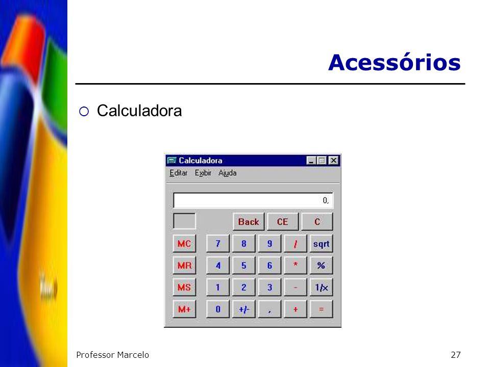 Acessórios Calculadora Professor Marcelo