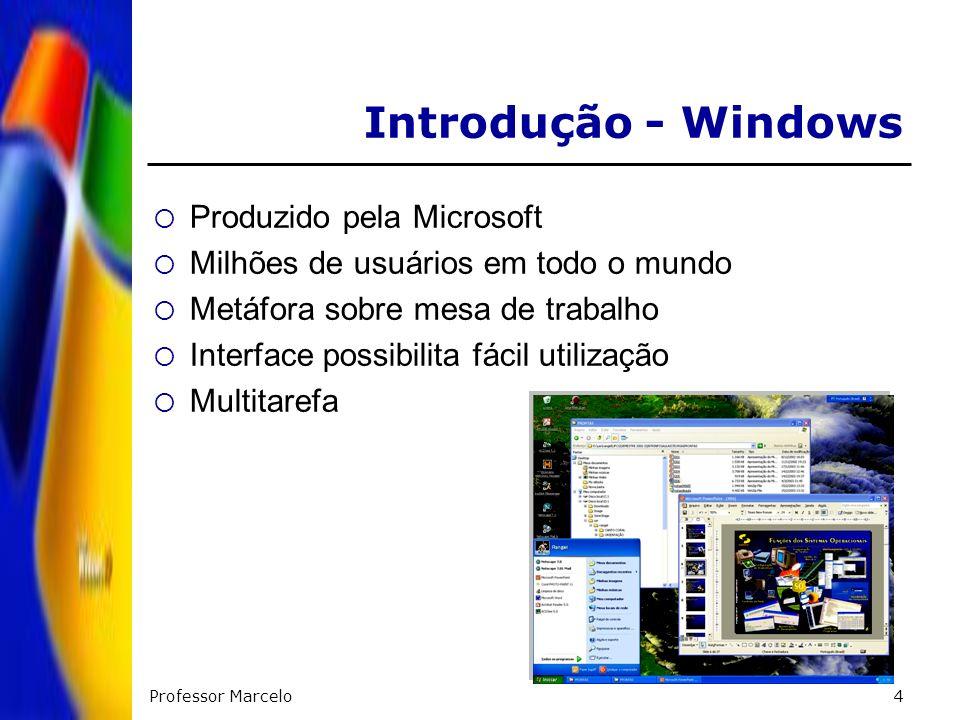 Introdução - Windows Produzido pela Microsoft