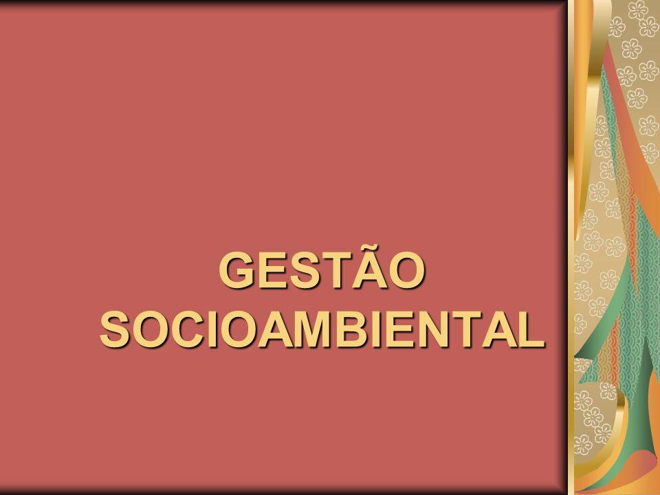 GESTÃO SOCIOAMBIENTAL