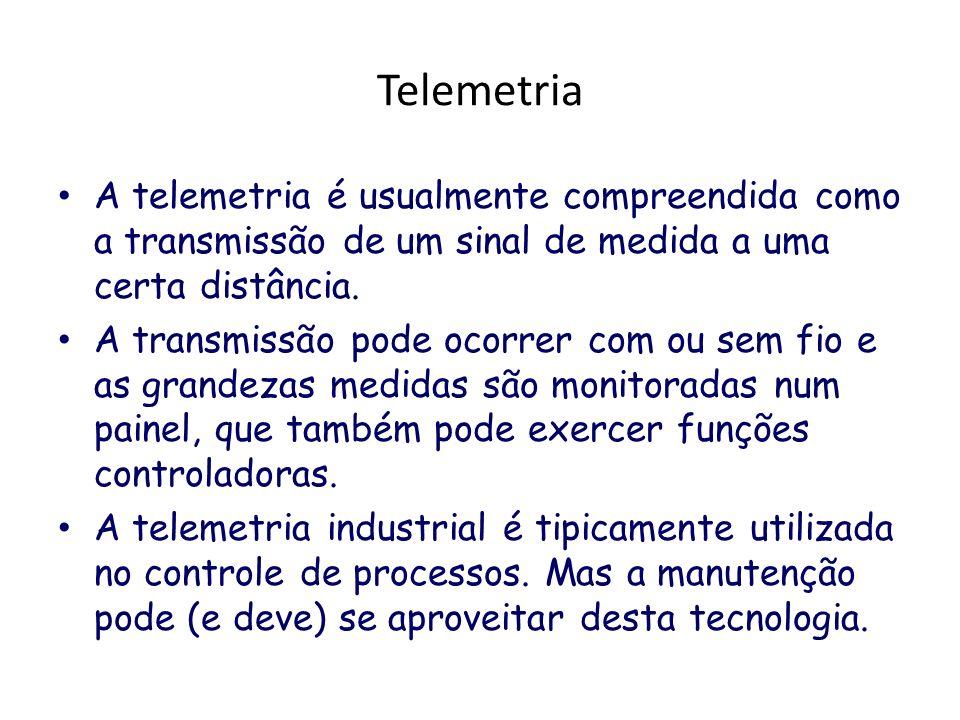 TelemetriaA telemetria é usualmente compreendida como a transmissão de um sinal de medida a uma certa distância.