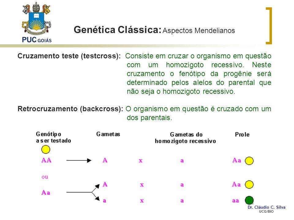 Genética Clássica: Aspectos Mendelianos