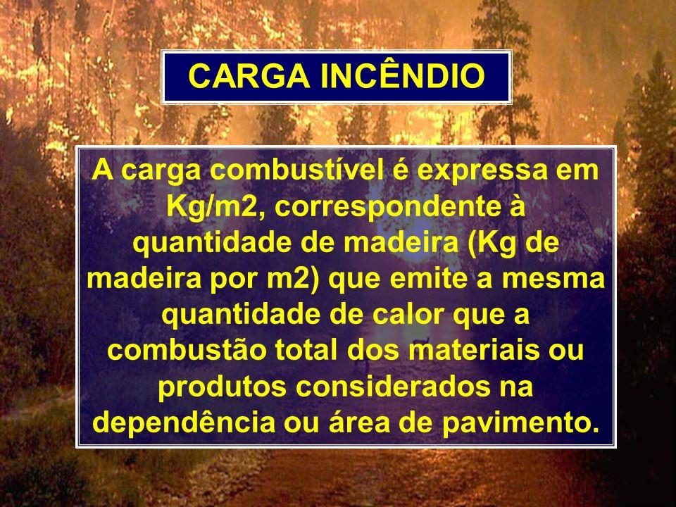 CARGA INCÊNDIO