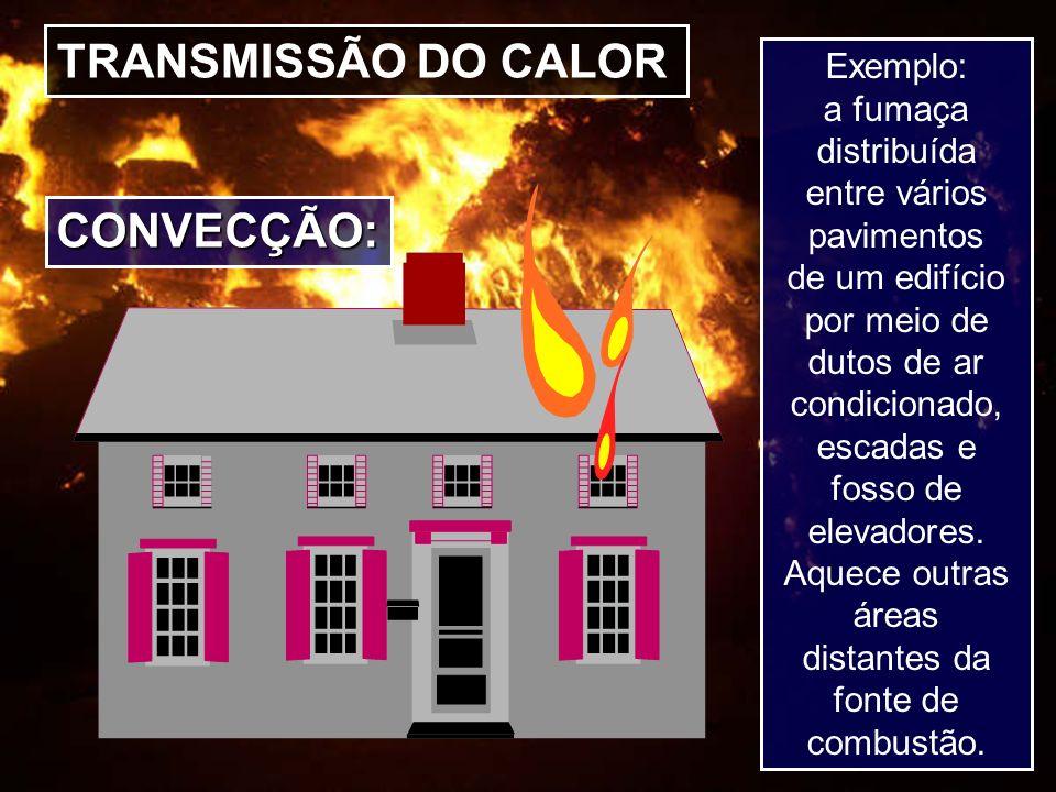 TRANSMISSÃO DO CALOR CONVECÇÃO: Exemplo: