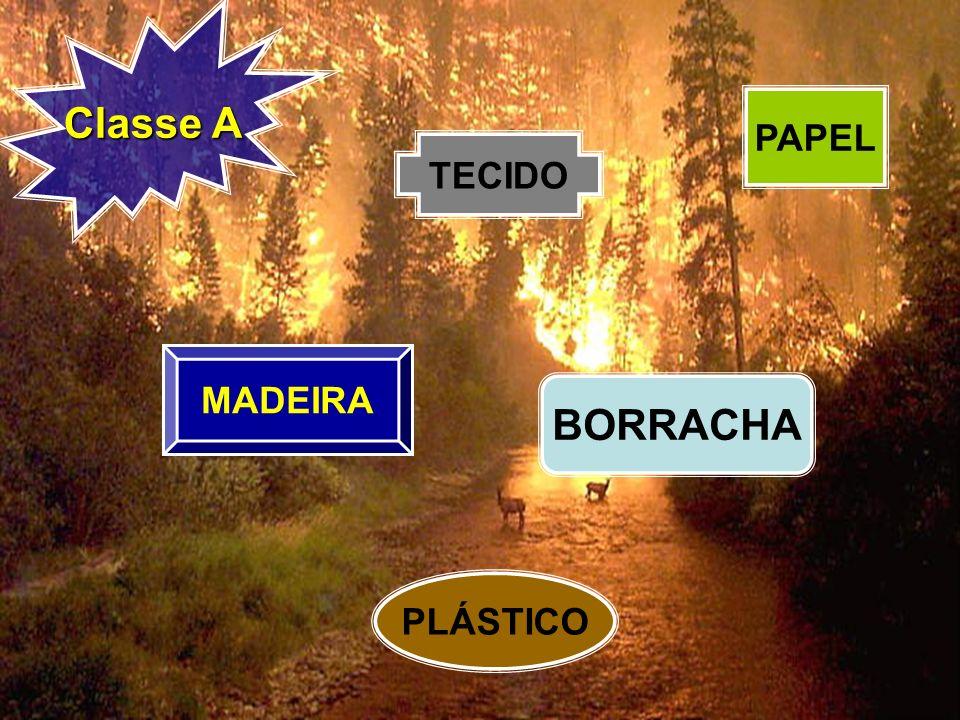 Classe A PAPEL TECIDO MADEIRA BORRACHA PLÁSTICO