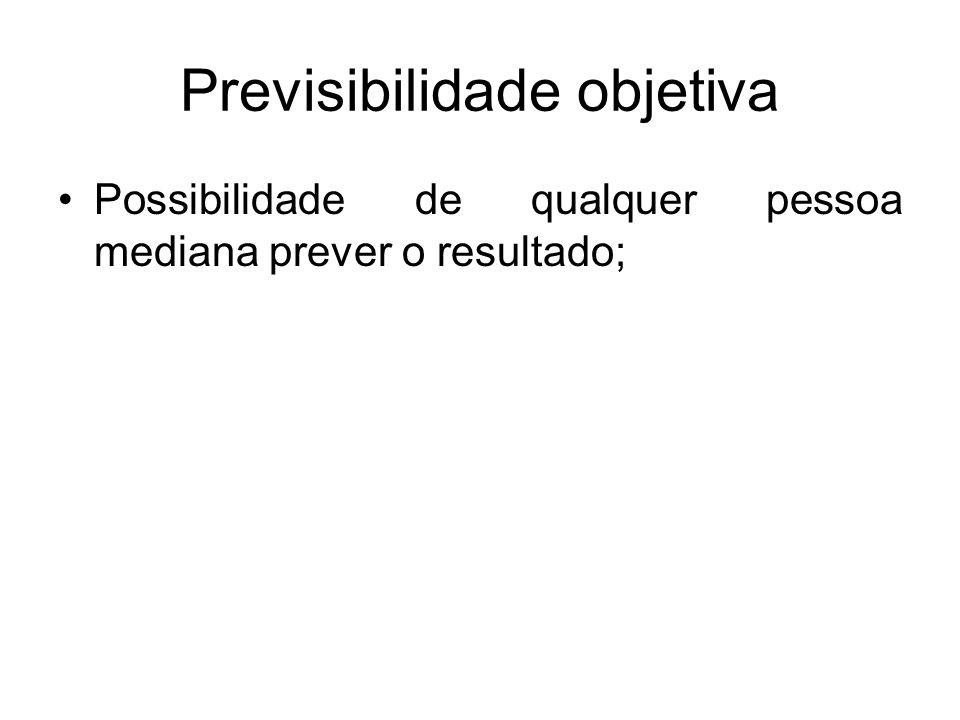 Previsibilidade objetiva