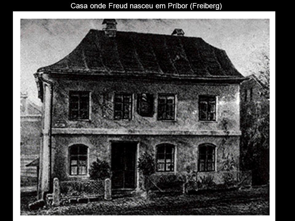 Casa onde Freud nasceu em Príbor (Freiberg)