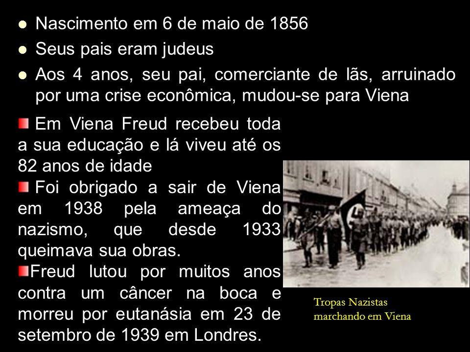 Nascimento em 6 de maio de 1856 Seus pais eram judeus