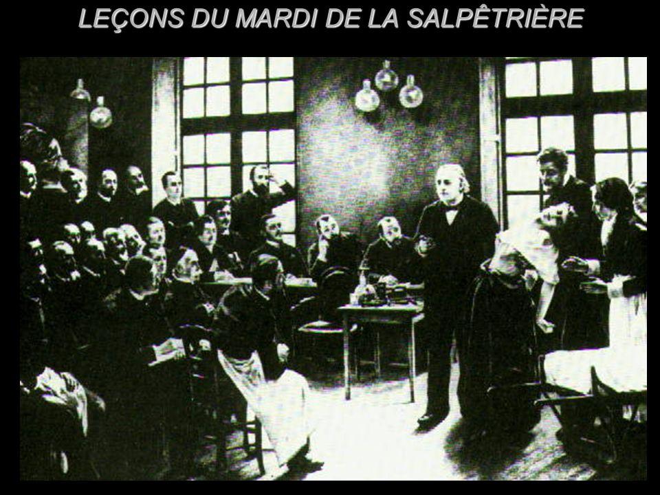 LEÇONS DU MARDI DE LA SALPÊTRIÈRE