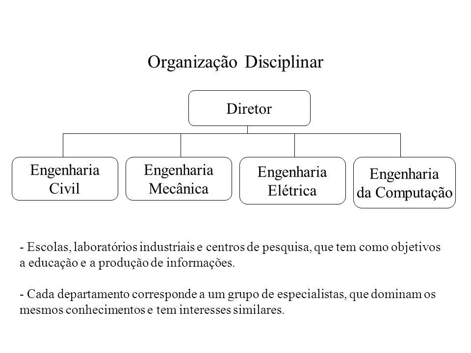 Organização Disciplinar